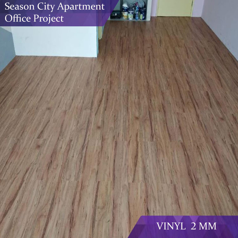 Vinyl Flooring Office Project